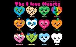 The I Love Hearts