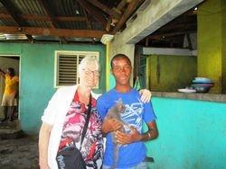 Carol with Jamieson
