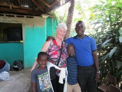 Wilson, one of the teachers and a Messef boy