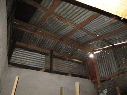 Tea strainer roof