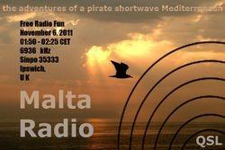 Shortwave Radio Malta