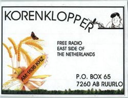 Korenklopper Radio