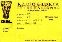 Radio Gloria International