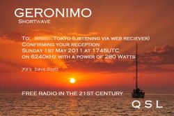 Geronimo Shortwave