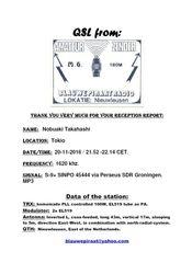 BLAUWE PIRAAT RADIO(NL)