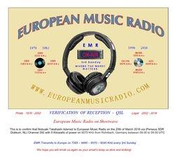 European Music Radio via KBC