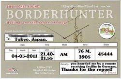 Radio Borderhunter