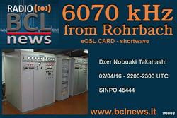 Radio BCL News(Channel292)