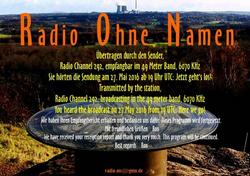 Radio Ohne Namen