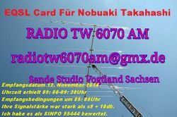 Radio TW 6070AM