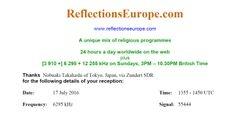 ReflectionsEurope