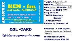 KIM-fm (via Channel292)