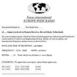 Focus International Europe-Wide Radio