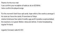 Radio AC DC