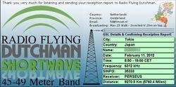Radio Flying Dutchman