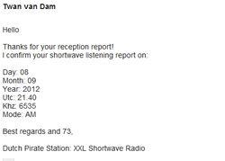 XXL Shortwave Radio