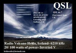 Radio Volcano Hekla