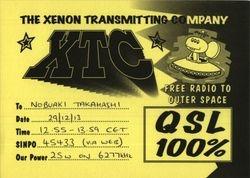 XTC The Xenon Transmitting Company