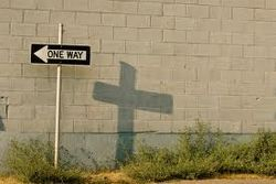 The cross is the only way to Heaven
