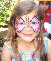 butterfly designs face painting
