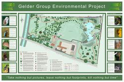 Map, Gelder Group Environmental Project