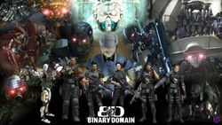 Binary Domain HD Exclusive Wallpaper