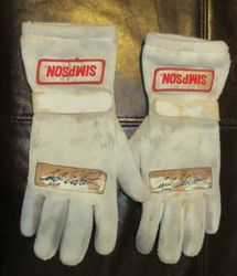 Signed 2004 Driver Gloves