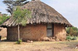 Typical Stone Mud Hut