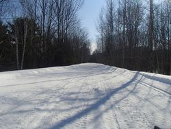 Wide and straight sledding