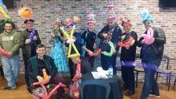 Balloon Magic guests.