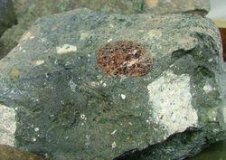 Pyrope in Sloan 2 kimberlite, Colorado