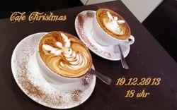 cafe weihnachtsfeier 2013