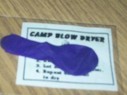 Camp Blow Dryer
