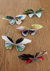 Recycled Butterfly