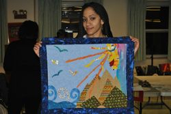 Lia's quilt
