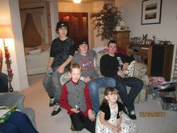 my cousins and bro