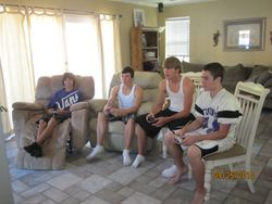 my 15th bday party