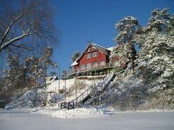 The villa in the winter