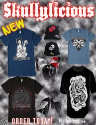 Skullylicious Magazine Ad for New Line Release
