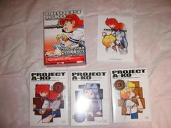 Japanese release DVD cases