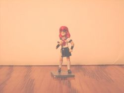 Metal gaming miniature A-ko