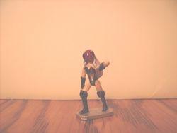 Metal gaming miniature B-ko