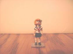 Metal gaming miniature C-ko