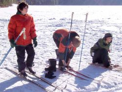 Snowshoe and Ski Competition