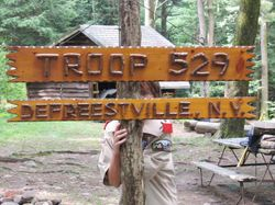 Troop 127 + Troop 529 = Fun