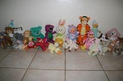 Assortment of Stuffed Toys
