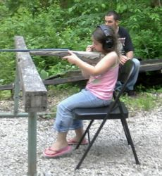 7 year old sharpshooter