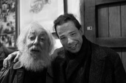 Fred Bervoets and Guy Donkers . Photo  by Dirk Vermeirre.