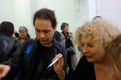 Guy Donkers and Marlene Dumas