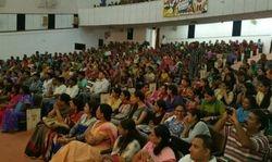 The gathering at Malvankar Hall Delhi